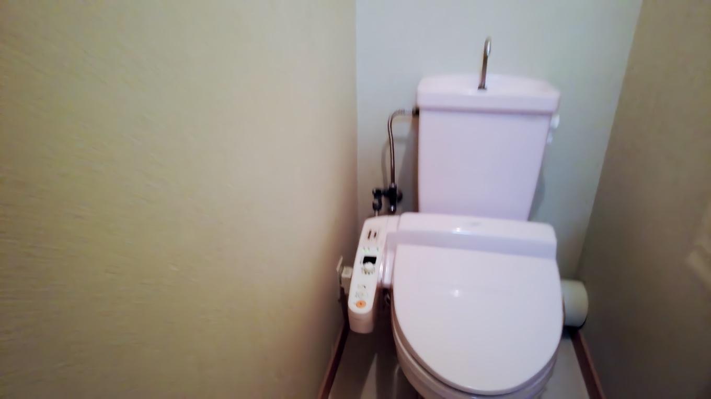 トイレは温水便座