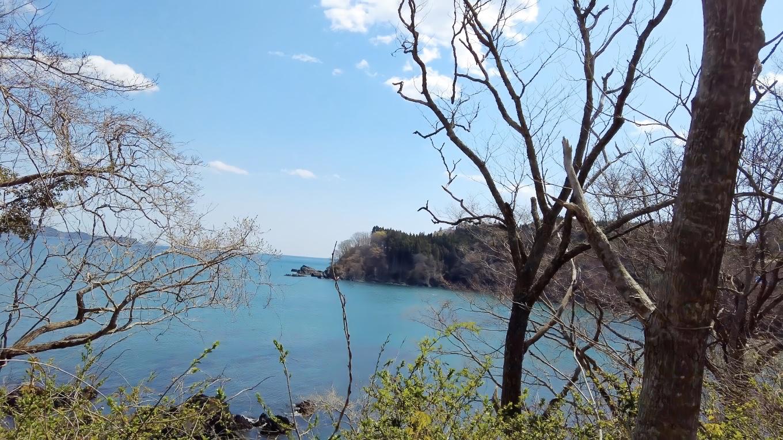 これから向かう唐桑半島は 風光明媚のようだ