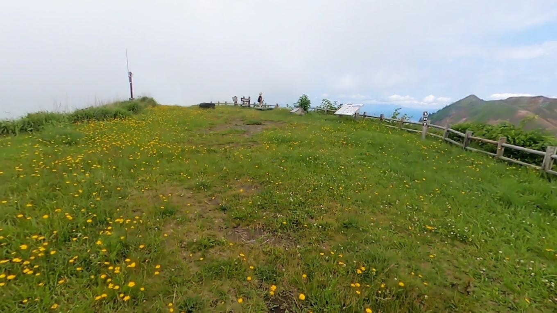 南外輪山展望台に到着