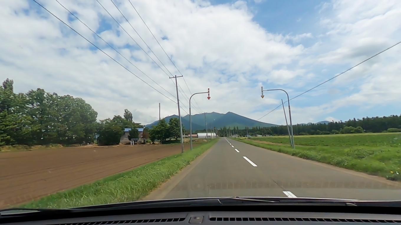 富良野岳の麓までやってきた