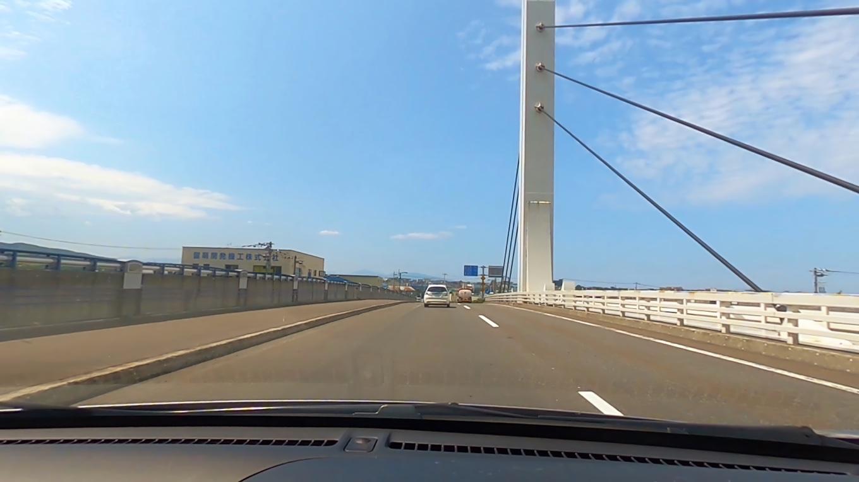 日本海オロロンラインに出る