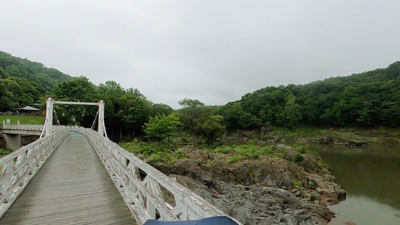 神居古潭は渓谷としても 知られている