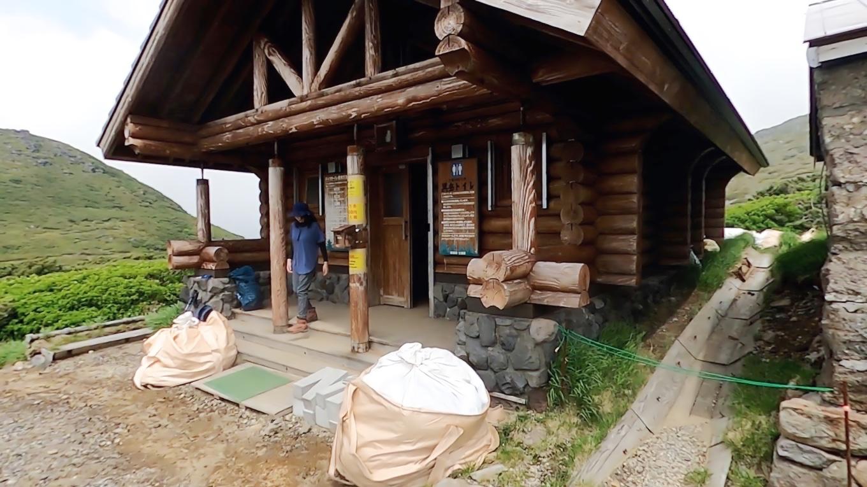 ここはキャンプ指定地があり トイレもある