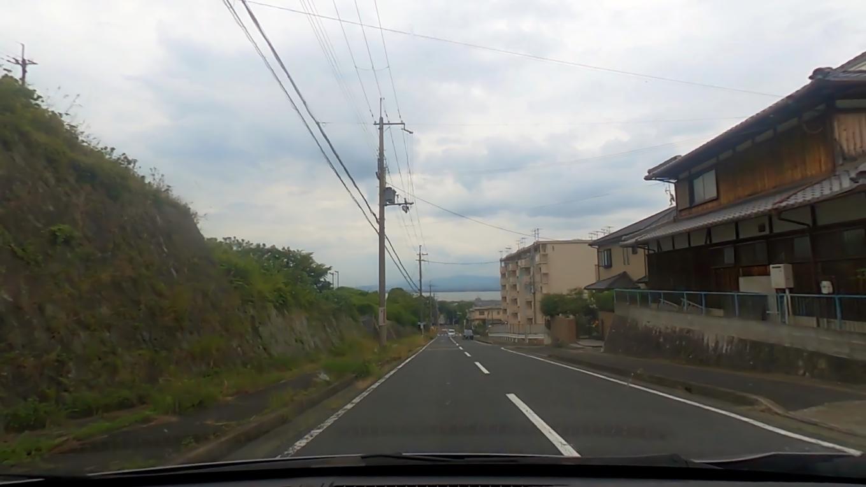 そこから車で 琵琶湖畔に向かう