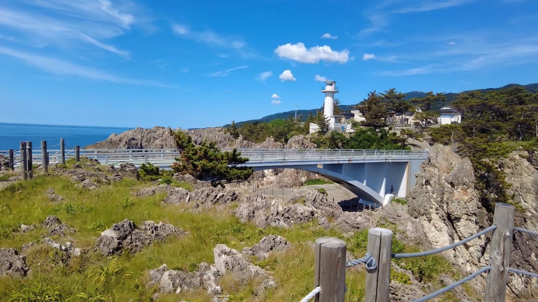 遊仙橋や灯台もきれいに見える