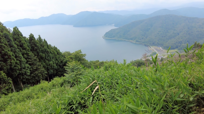 ここは琵琶湖の最後部にあたる