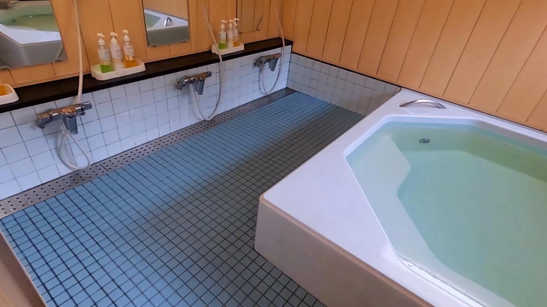 洗い場は3つある