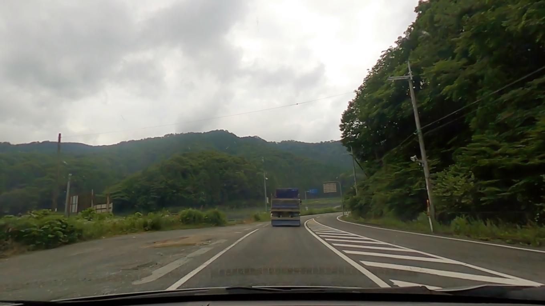 チェックアウトし 車で琵琶湖の北詰まで走り山越え