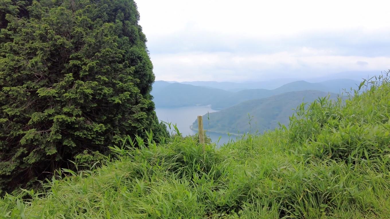 琵琶湖を見下ろせる