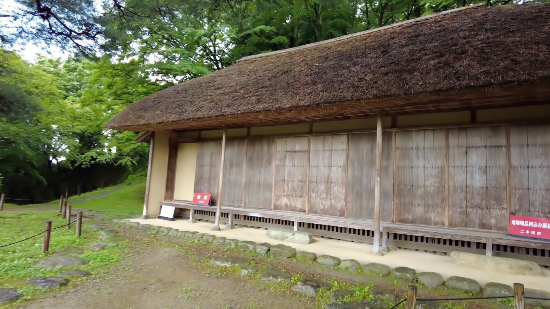 洗心亭 せんしんてい という江戸時代の建造物