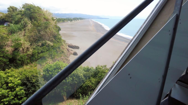 このため 芸西村の海岸線を一望することができる