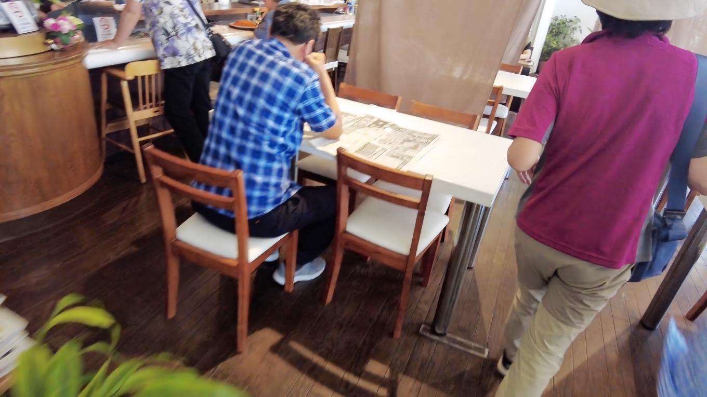 ツレの希望で 喫茶店のあるこーいりすに入ってみた