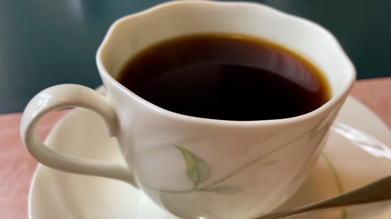 食後のコーヒーは200円