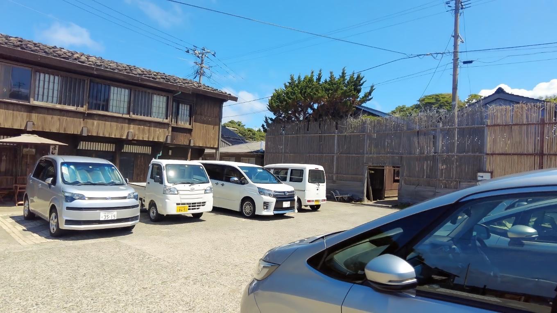 観光駐車場は無料で駐車できるのがありがたい