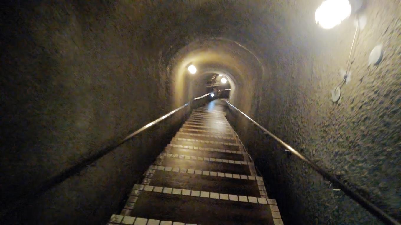 宗田夫坑 そうだゆうこう は 江戸時代に掘られた 手掘り坑道だという