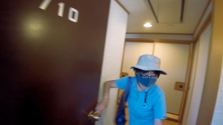 この日は7階の710号室だ